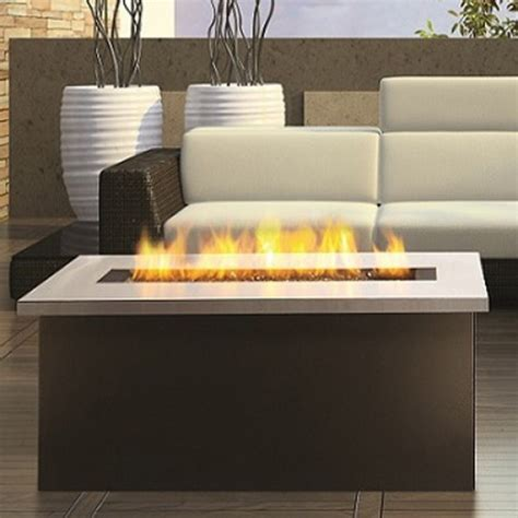 Outdoor Coffee Table Gas Fire Pit