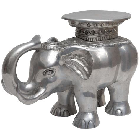 elephant tables for sale aluminum elephant table for sale at 1stdibs