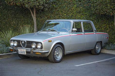 Alfa Romeo Berlina For Sale by 1974 Alfa Romeo Berlina Base Sedan 4 Door 2 0l Classic