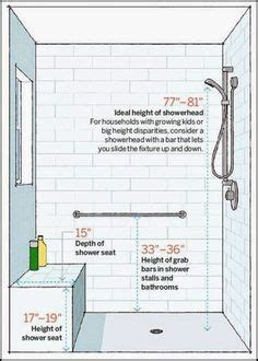 shower seat height photos 1000 images about bathroom floor plans on