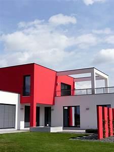 cuisine couleur maison construction notre modale With amazing couleur facade maison contemporaine 3 notre maison phenix
