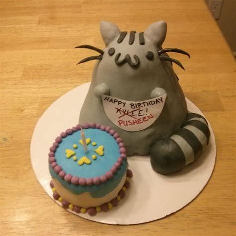 pusheen cat birthday pusheen cat cake