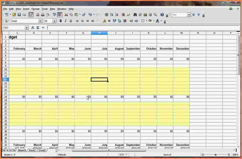 8 how to make your own budget spreadsheet excel