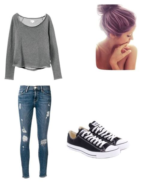 U0026quot;Lazy day outfit for schoolu0026quot; by savhannhasanchez on Polyvore | Outfit ideasu00a5 | Pinterest ...