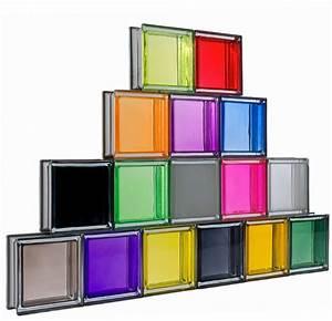 Brique De Verre Couleur : briques de verre couleur 19 cm x 19 cm rev tement sols fa ence gr carreaux c ramique tunisie ~ Melissatoandfro.com Idées de Décoration