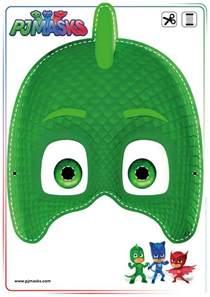 Printable PJ Gekko Mask Masks