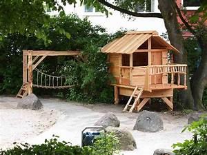 Baumhäuser Für Kinder : kindersicherer garten kinderleicht garden jardins cabane und terrasse ~ Eleganceandgraceweddings.com Haus und Dekorationen