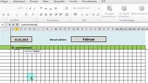 Kreditzinsen Berechnen Excel : gut excel monats bersicht aus jahres dienstplan ausgeben per wverweis voll youtube ~ Themetempest.com Abrechnung