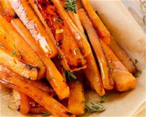 cuisiner carottes recette de patate douce et carotte rôties aux épices i g bas