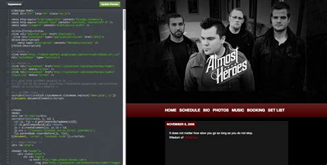 Free Themes Html Codes How To Develop A Custom Theme Webdesigner Depot