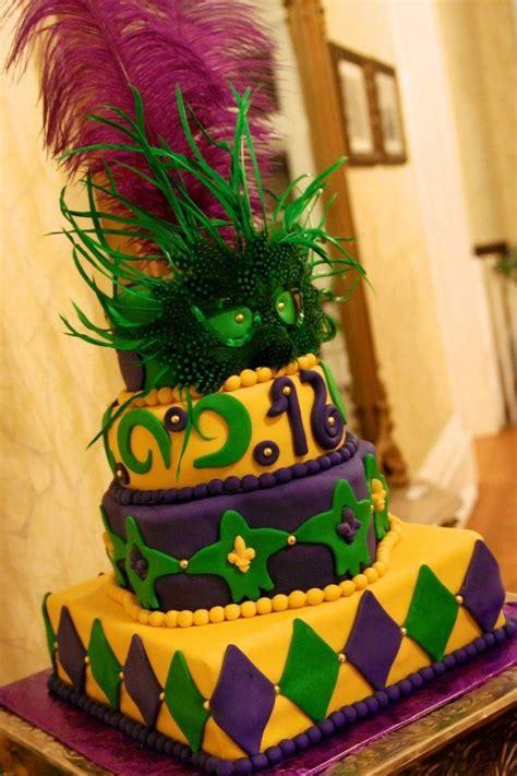 images  mardi gras cakes  pinterest