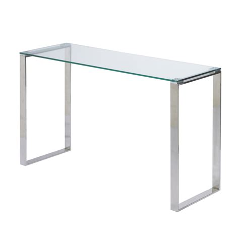 glass sofa table gem glass console table buy glass console tables living room store