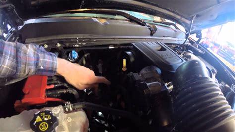 change fuel filter  duramax lml   youtube