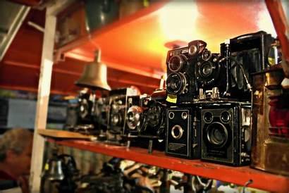 Camera Nostalgia Brown Shelves Tlr Bright Kamera