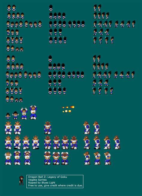 game boy advance dragon ball   legacy  goku