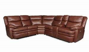 3149 power reclining sectional sofa in cognac by albany for Allison recliner sectional sofa by albany industries
