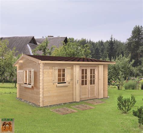 modele de chalet en bois chalet de jardin bois mod 232 le goumi 20 m 178 en madriers de 34 mm