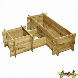 Autoclave Classe 3 : potager bois manhattan system en bois de pin autoclave ~ Premium-room.com Idées de Décoration