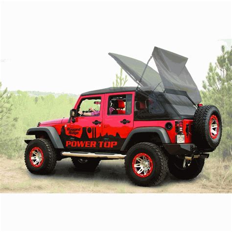 All Things Jeep Powertop Soft Top Kit For Jeep Wrangler