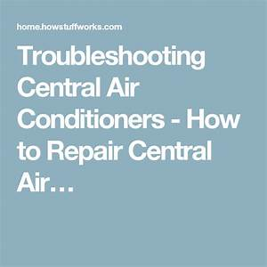 Central Ac Troubleshooting Chart