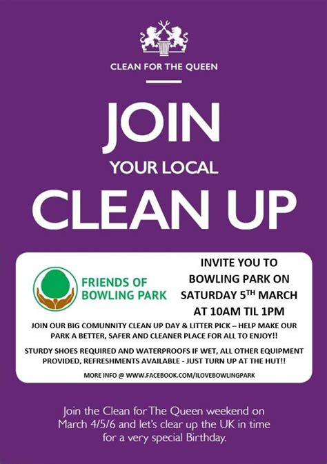 COMMUNITY CLEAR UP DAY - SATURDAY 5th MARCH - Friends of ...