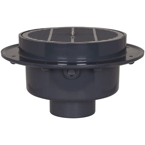 3 In X 4 In Pvc Large Capacity Floor Drain With Strainer
