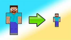 HOW TO SHRINK IN MINECRAFT YouTube