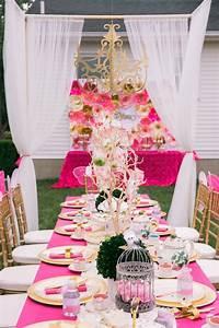 Kara's Party Ideas Pink & Gold Garden Tea Party | Kara's ...