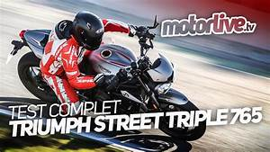 Street Triple 2017 : triumph street triple 765 rs 2017 test complet youtube ~ Maxctalentgroup.com Avis de Voitures
