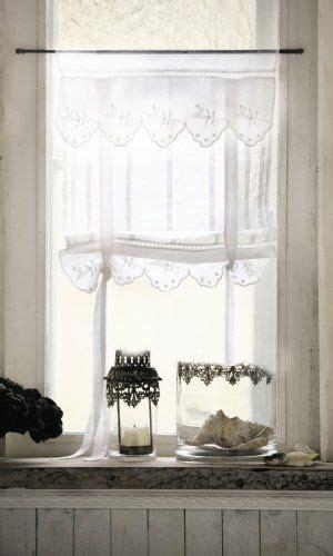 romantische gardinen im landhaus stil lannion er set