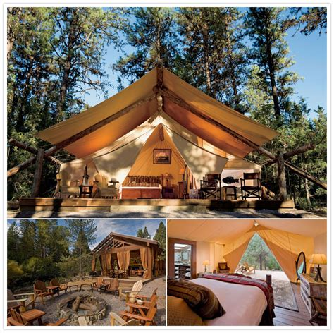 luxury camping destinations top  aluxcom