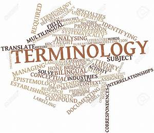 List Of Synonyms And Antonyms Of The Word  Terminology
