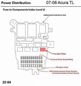 G-029   U0026 39 07- U0026 39 08 Acura Tl Diy Fog Light Mod