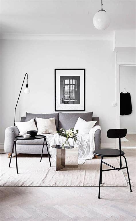 inspiration salones escandinavos apartamento minimalista  diseno interior escandinavo
