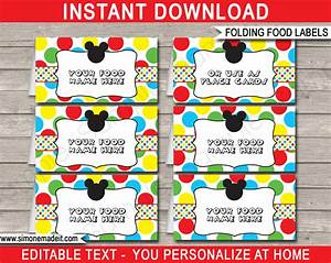 Birthday Candy Bar Wrappers Template Free Mickey Mouse Party Printables Invitations Decorations