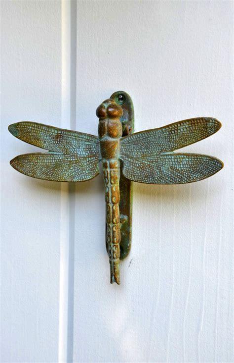 dragonfly door knocker  city farm