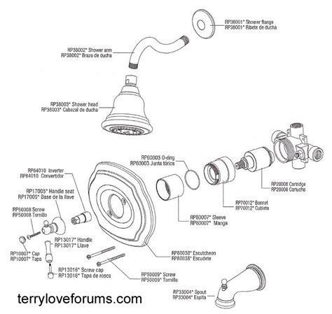 Pegasus Shower Cartridge Removal   Terry Love Plumbing