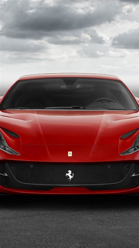 Wallpaper Ferrari 812 Superfast, Supercar, Front, Cars