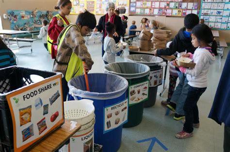 lunchroom food sharing programs curb waste  feed kids