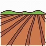 Farm Land Field Plot Agriculture Farming Icon