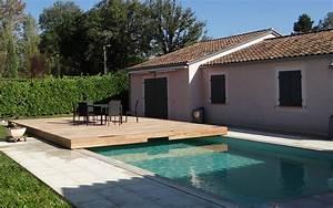 Bois Pour Terrasse Piscine : couverture piscine coulissant terrasse coulissante pour ~ Edinachiropracticcenter.com Idées de Décoration