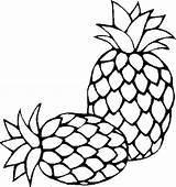 Pineapple Coloring Clipart Pages Outline Fresh Sugarloaf Print Colouring Printable Drawing Sheet Slice Getcoloringpages Clipartmag Tropical Spongebob Colornimbus sketch template