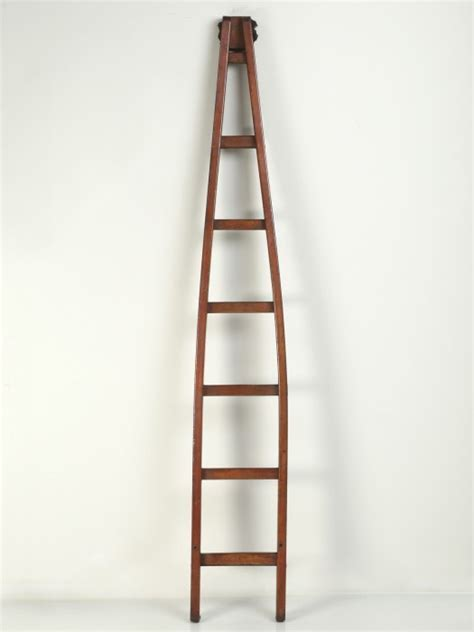 Antique Cherry Orchard French Ladder now in stock @ Old Plank