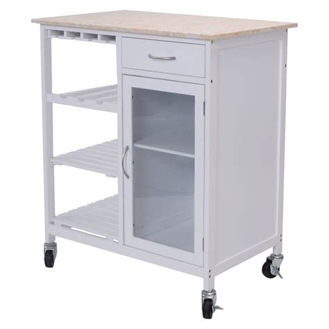 kitchen island rolling cart style kitchen rolling cart faux marble top island