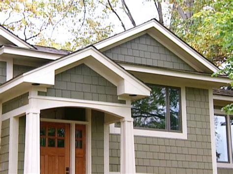 bi level homes interior design craftsman style exterior home makeover hgtv