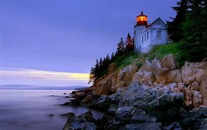 Lighthouse Lightning Wallpapers