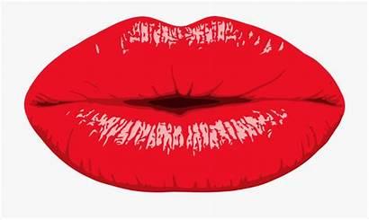 Lips Kissing Clipart Kiss Lip Mouth Drawing