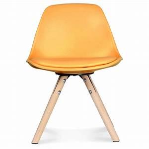 Chaise Scandinave Jaune : chaise scandinave enfant jaune honey little marmaille ~ Teatrodelosmanantiales.com Idées de Décoration