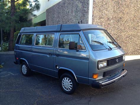 volkswagen van front 1987 volkswagen vanagon camper 180919