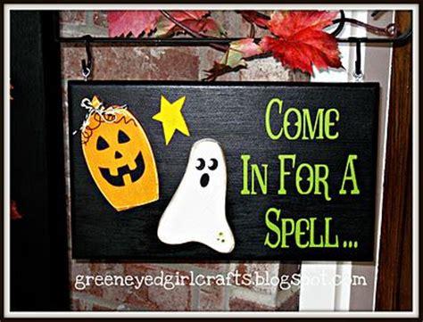 cute wood halloween sign craft ideas pinterest